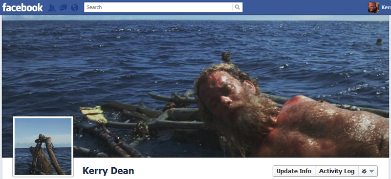 Facebook Timeline Cover Picture: Castaway