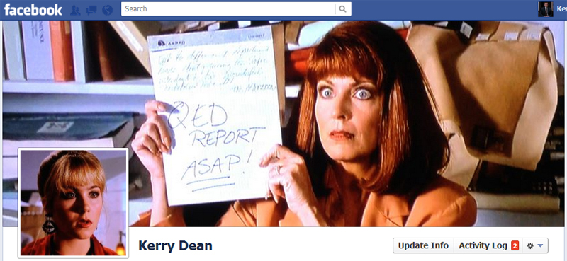 Facebook Timeline Picture Cover: Don't Tell Mom The Babysitter's Dead