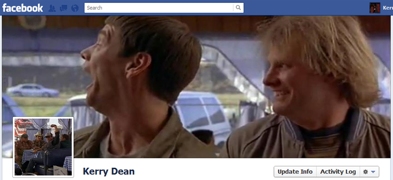 Facebook Timeline Cover Picture: Dumb & Dumber