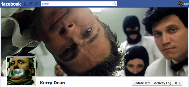 Facebook Timeline Cover Picture: Fight Club