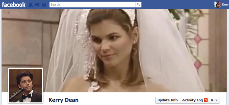 Facebook Timeline Cover Picture: Full House (The Wedding)