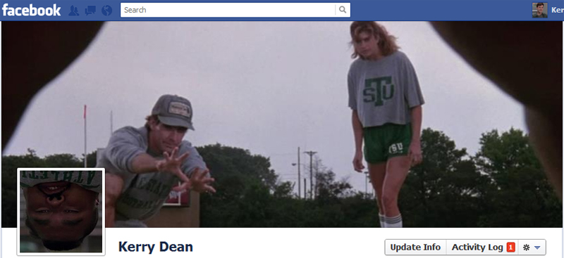 Facebook Timeline Cover Picture: Necessary Roughness (Kathy Ireland)