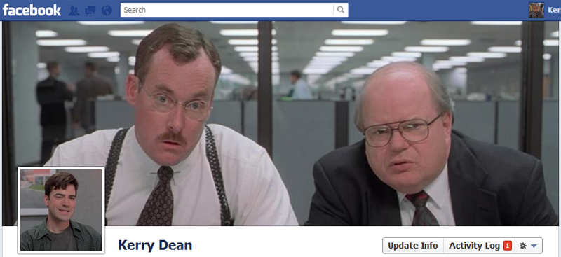 Facebook Timeline Cover Picture: Office Space (The Bobs)