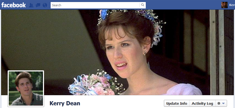 Facebook Timeline Cover Picture: Sixteen Candles