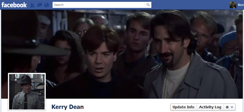 Facebook Timeline Cover Picture: So I Married An Axe Murderer
