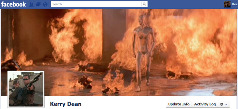 Facebook Timeline Cover Picture: Terminator 2: Judgment Day