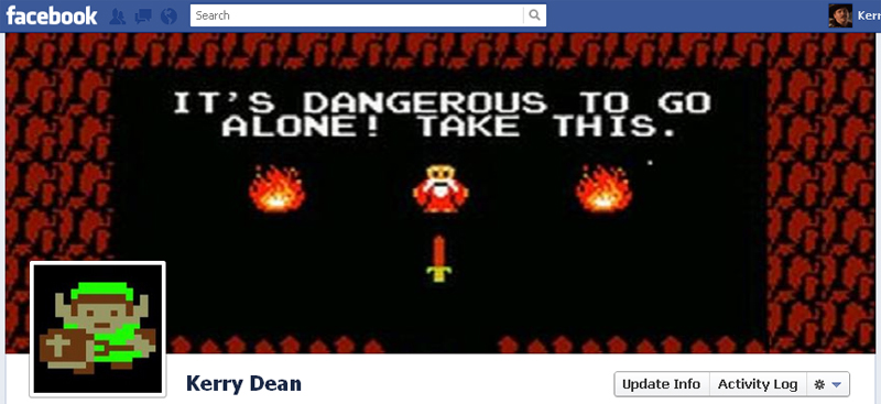 Facebook Timeline Cover Picture: The Legend of Zelda