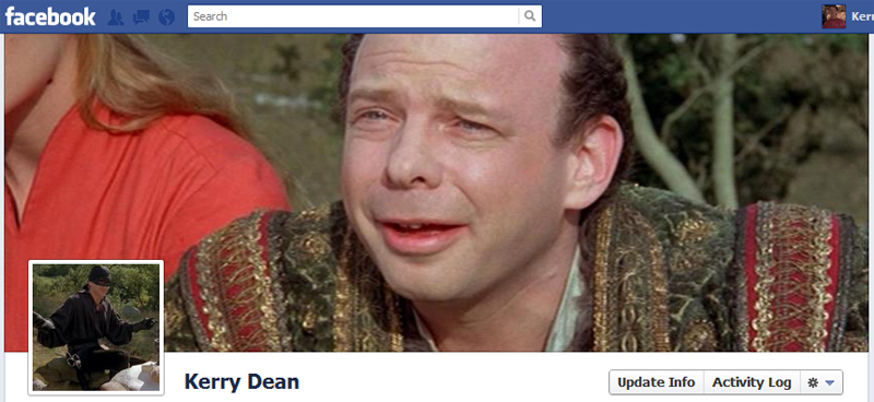 Facebook Timeline Cover Picture: The Princess Bride