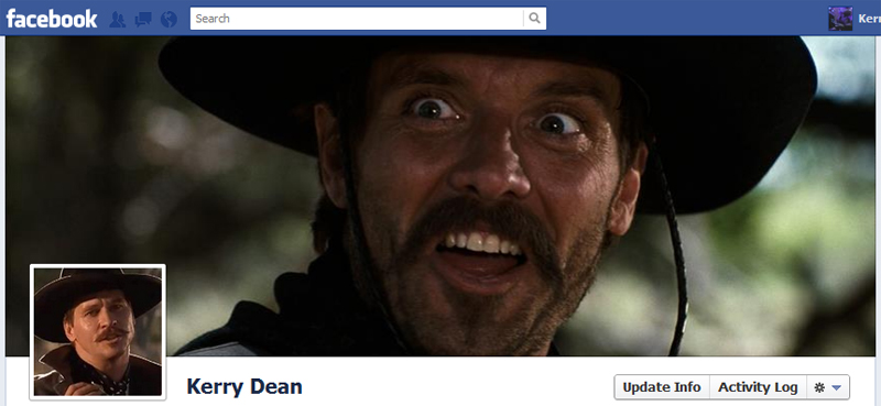 Facebook Timeline Cover Picture: Tombstone