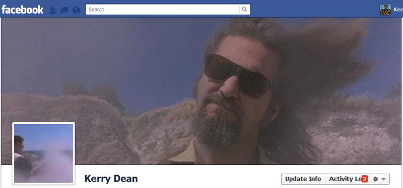 Facebook Timeline Cover Picture: The Big Lebowski