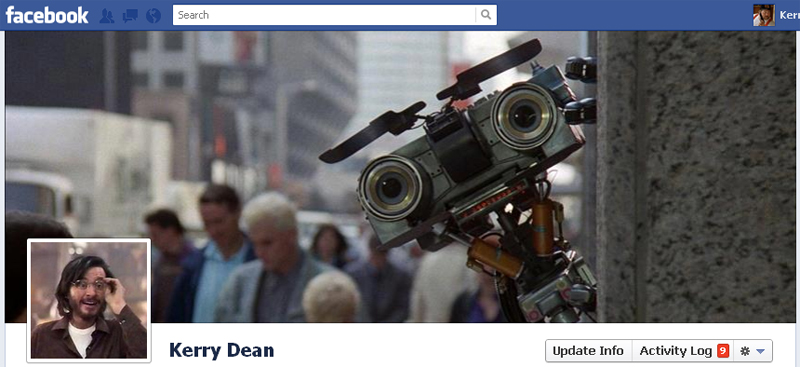 Facebook Timeline Cover Picture: Short Circuit 2