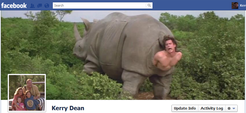Facebook Timeline Cover Picture: Ace Ventura 2: When Nature Calls