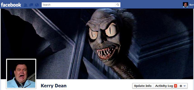 Facebook Timeline Cover Picture: Beetlejuice