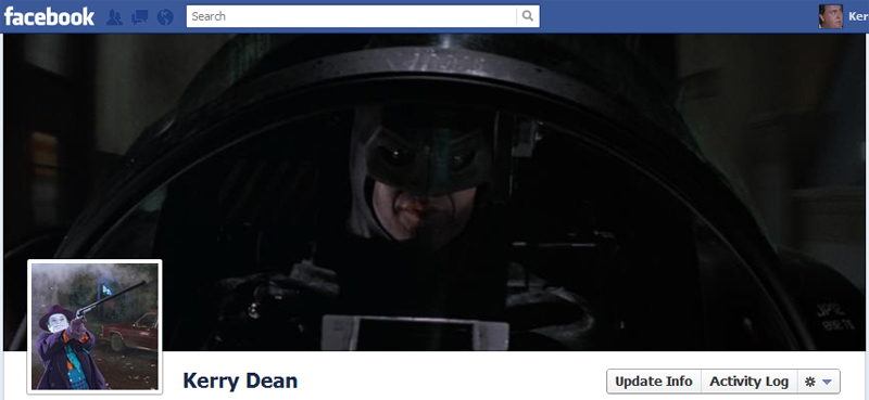 Facebook Timeline Cover Picture: Batman (1989)
