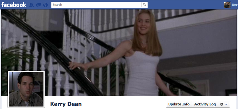 Facebook Timeline Cover Picture: Clueless