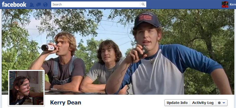Facebook Timeline Cover Picture: Dazed and Confused