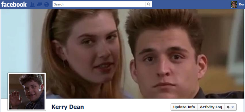 Facebook Timeline Cover Picture: Encino Man