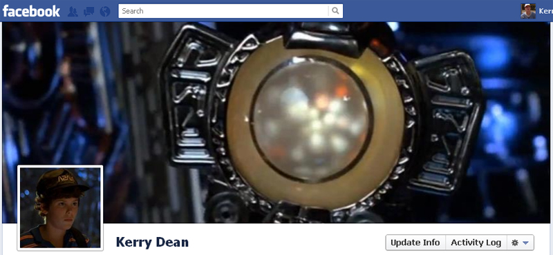 Facebook Timeline Cover Picture: Flight of the Navigator