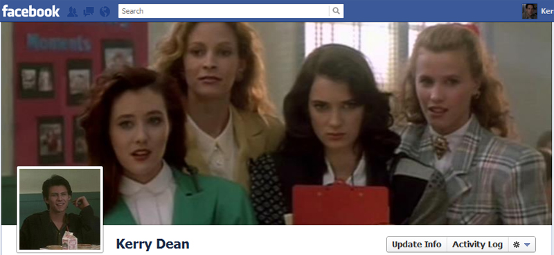 Facebook Timeline Cover Picture: Heathers