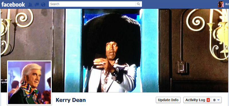 Facebook Timeline Cover Picture: Naked Gun 33?: The Final Insult