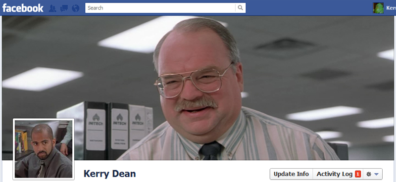 Facebook Timeline Cover Picture: Office Space