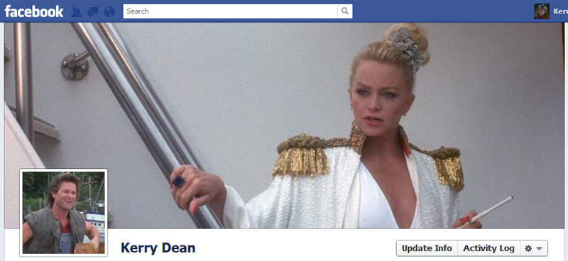 Facebook Timeline Cover Picture: Overboard