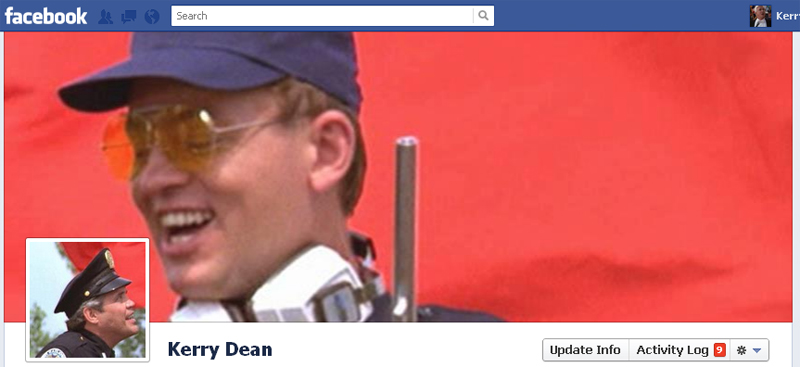 Facebook Timeline Cover Picture: Police Academy