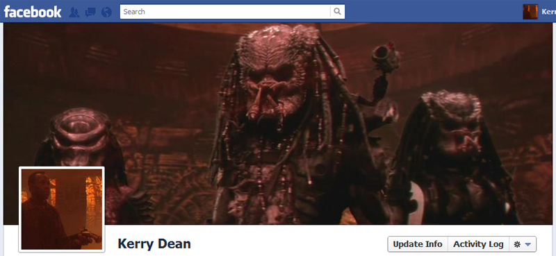 Facebook Timeline Cover Picture: Predator 2