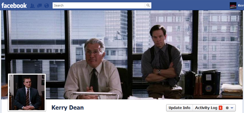 Facebook Timeline Cover Picture: The Departed
