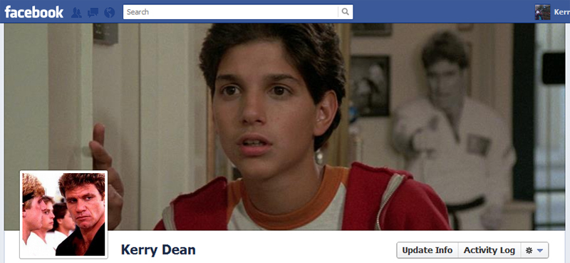 Facebook Timeline Cover Picture: The Karate Kid