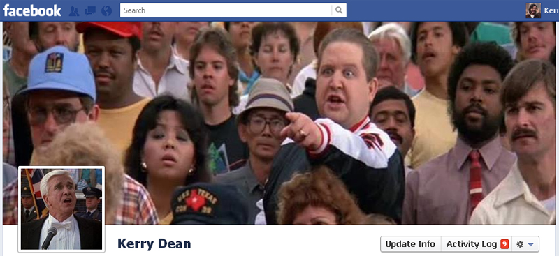 Facebook Timeline Cover Picture: The Naked Gun