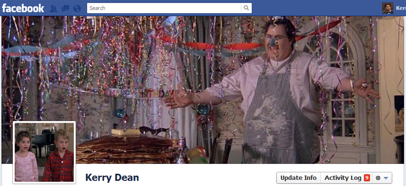 Facebook Timeline Cover Picture: Uncle Buck
