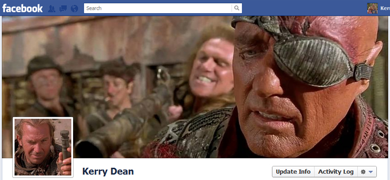 Facebook Timeline Cover Picture: Waterworld