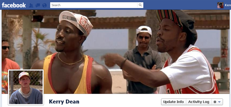 Facebook Timeline Cover Picture: White Men Can't Jump