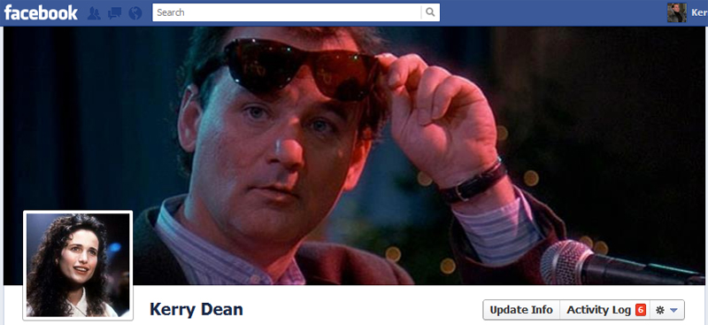 Facebook Timeline Cover Picture: Groundhog Day