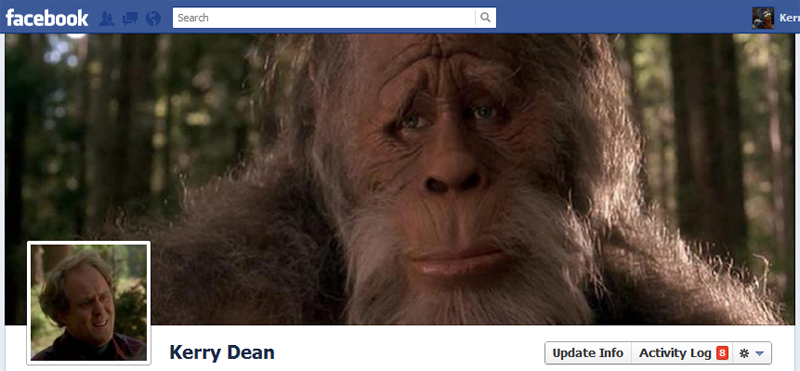 Facebook Timeline Cover Picture: Harry & The Hendersons