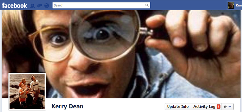 Facebook Timeline Cover Picture: Honey, I Shrunk The Kids