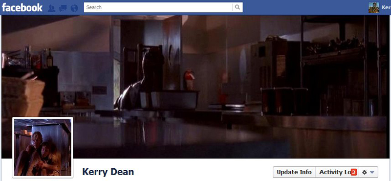 Facebook Timeline Cover Picture: Jurassic Park